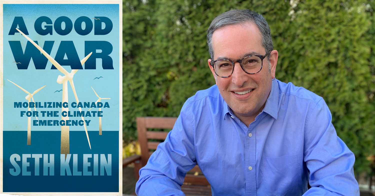 Seth-Klein-A-Good-War-Book-Cover-Headshot - McConnell Foundation